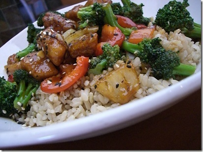 Sesame Chicken Lunch Bowl at P.F. Changs
