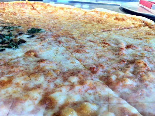1. New York Original Cheese Pizza at Frankie & Johnnies New York Pizza