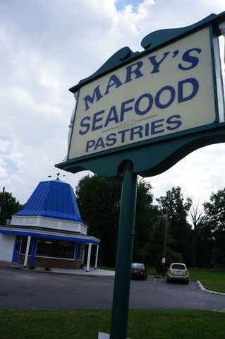 Exterior at Mary's Seafood