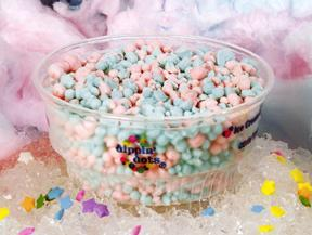Cotton Candy at Dippin' Dots