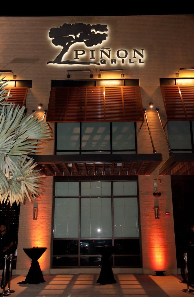 Restaurant Menu at Pinon Grill