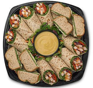 Cool Wrap® and Chicken Salad Sandwich Tray at Chick-fil-A