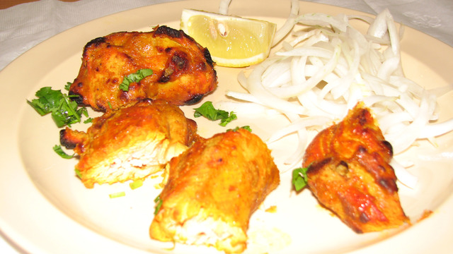 Chiken Tikka at Mumbai Chowk