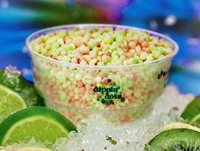 Tropical Tie Dye at Dippin' Dots
