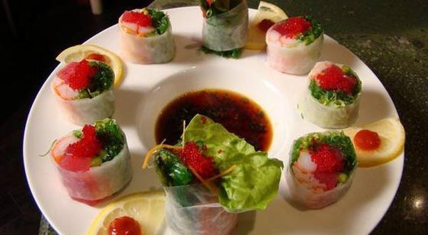 Saigon Roll at Hiro's Tokyo Steakhouse