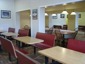 Interior at Victoria's Pizzeria