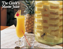 THE CREEK'S MOOSE JUICE at Bugaboo Creek Steak House