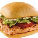 Grilled Alaskan Salmon Sandwich at Captain D's Seafood