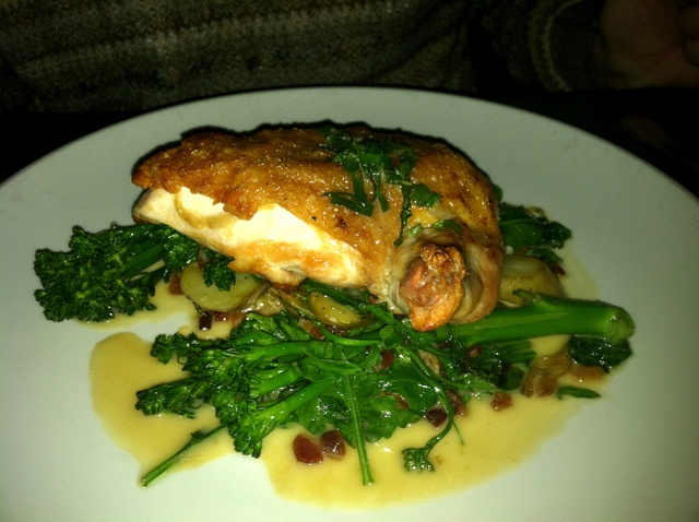 Roasted Free Range Chicken Breast at La Boheme
