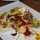 Fuji Apple & Endive Salad with Stilton, Cranberries, Toasted Walnuts & Cider Vinaigrette at Thyme Restaurant & Cafe Bar
