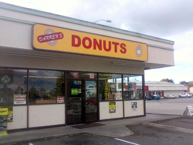 Photo at Darren's Donut