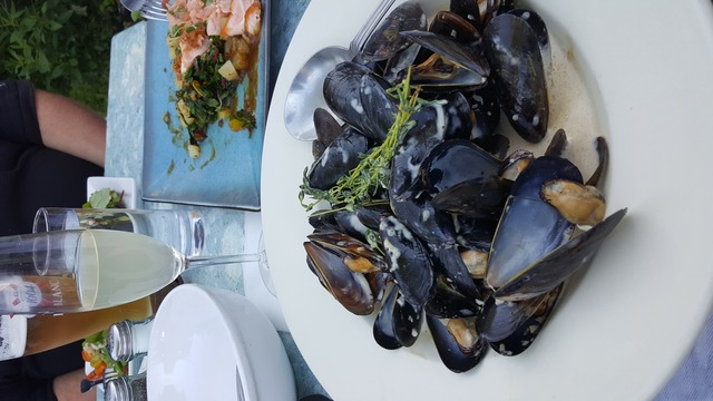 Mussels at Maison