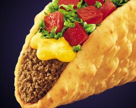CHALUPA NACHO CHEESE at Taco Bell