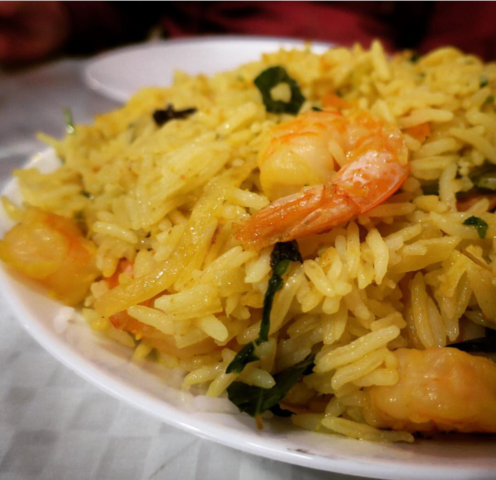 Shrium Biryani at Lakshana's Chettinad Indian Restaurant