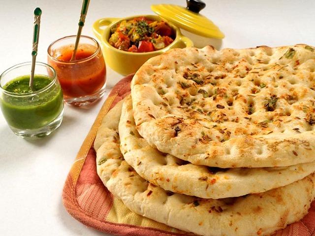 Kulcha at Chatkharay Indian and Pakistani Grill