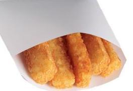 Hash Brown Sticks at Jack in the Box