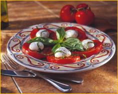 Mozzarella alla Caprese at Romano's Macaroni Grill