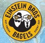 Logo at Einstein Bros. Bagels
