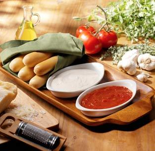 Dipping Sauces for Breadsticks at Olive Garden