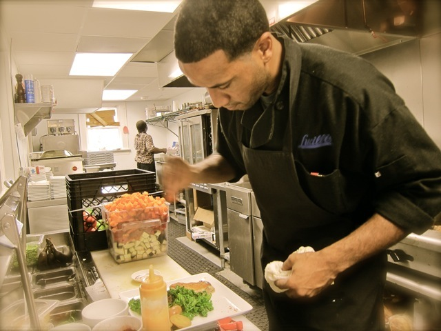 Lucille's Chef/Owner Chris Williams - Dish at Lucille's