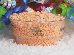 Orange Sherbet at Dippin' Dots
