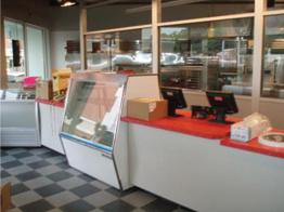 Interior at D P Dough