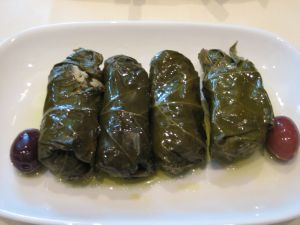 Dolmathes at Kokkari Estiatorio