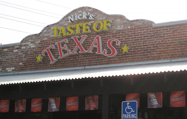 Photo at Nick's Taste of Texas