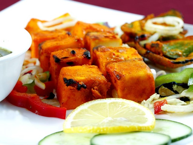 Paneer at Chatkharay Indian and Pakistani Grill