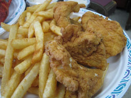 Fish & Chips at Tinker's Seafood