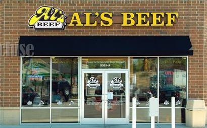 Exterior at Al's #1 Italian Beef