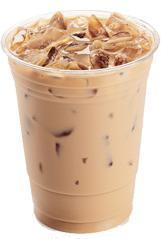 Caramel Iced Coffee at Jack in the Box