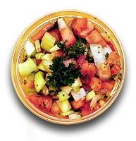 Shirazi Salad at Moby Dick House of Kabob