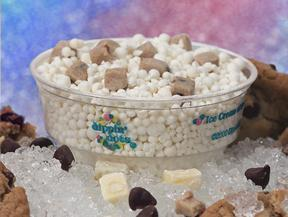 Chocolate Chip Cookie Dough at Dippin' Dots