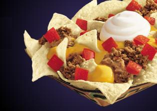 NACHOS SUPREME at Taco Bell