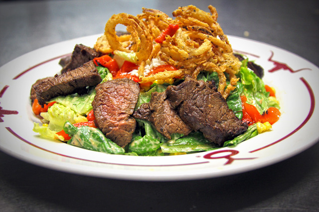 Chipotle Sirloin Caesar Salad - SIRLOIN SALAD at Y.O. Ranch Steakhouse