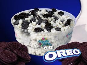 Cookies 'n Cream w/ Oreo at Dippin' Dots