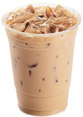 Vanilla Iced Coffee at Jack in the Box
