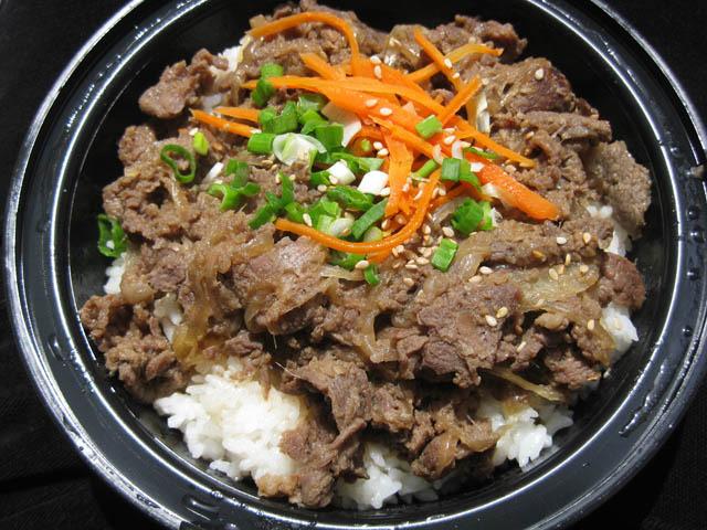 Bulgogi Lunch Specials - Restaurant Menu at Korea Garden Restaurant