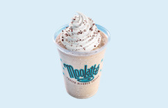 MooLatté Frozen Blended Coffee at Dairy Queen