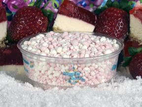 Strawberry Cheesecake at Dippin' Dots