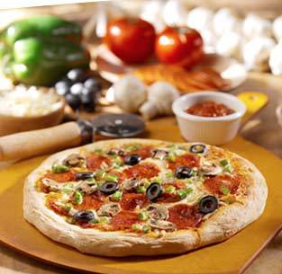 Create your Own Pizza at Olive Garden