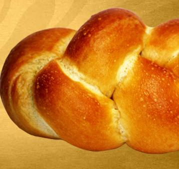 Challah Roll at Einstein Bros. Bagels