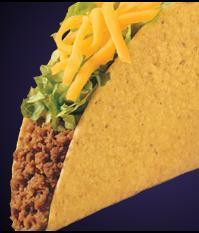 CRUNCHY TACO at Del Taco