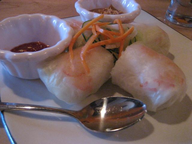 Viet Soft Rolls Appetizer at Lemongrass