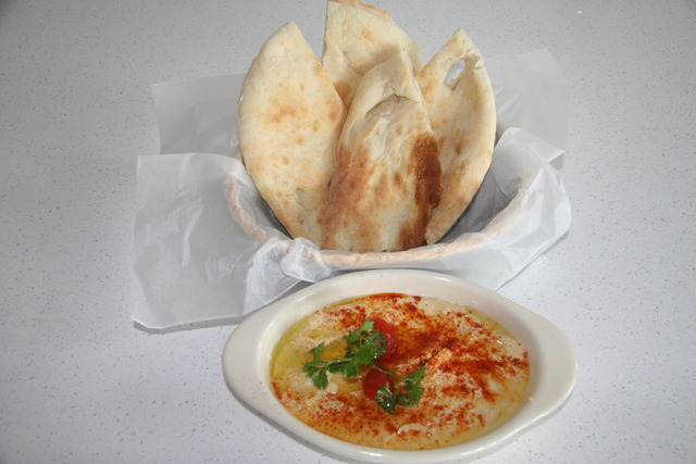 If you don't like hummus, you'll love this one - Hummus at Mazadar Kabob