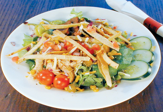21. Smokehouse Salad at Red Hot & Blue