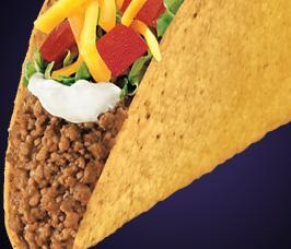 TACO SUPREME® at Del Taco