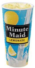 Minute Maid Lemonade at Jack in the Box