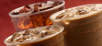 Iced Coffee at Dunkin' Donuts